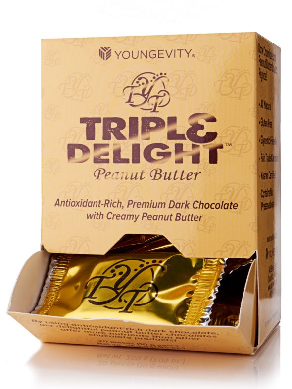 Triple Delight Peanut Butter Truffles (20Ct)