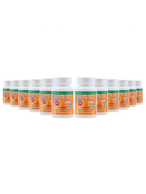 Pollen Burst™ Tabs - 60 Tablets (12 Pack)