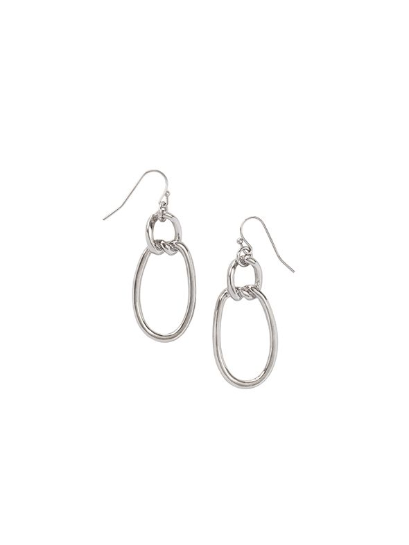 Modern Metal Earrings